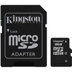 afbeelding Kingston MicroSD HC Class 4 (8 GB)