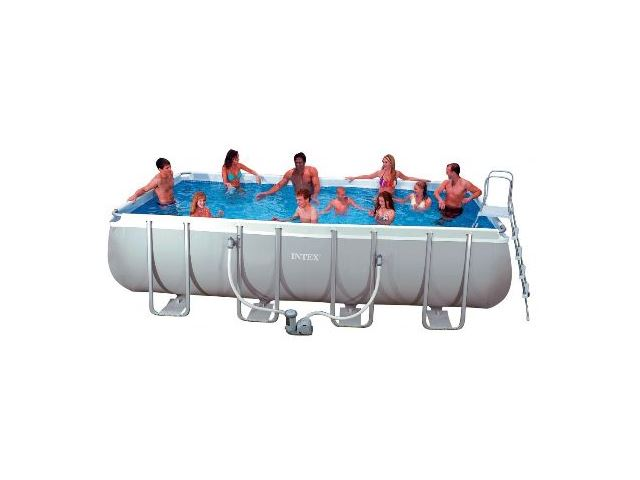 Shirlene Grinnell\'s blog: Intex 18\' Ultra Frame Pool