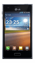 LG E610 Optimus L5 Zwart