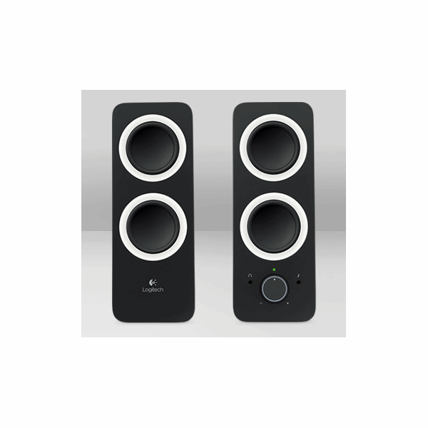 how to connect logitech z200 speakers to pc