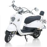 Iva scooter Venice - parelmoer wit 25km/uur