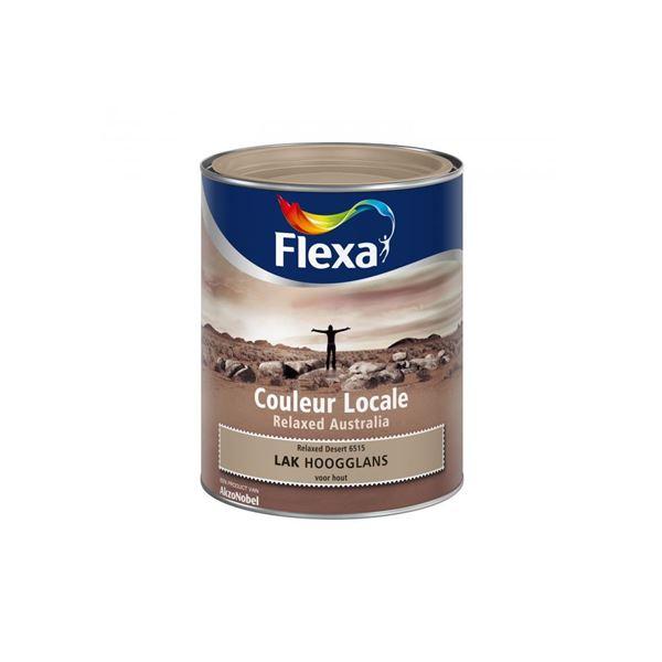 Flexa Couleur Locale Relaxed Australia hoogglans 0 75 l desert 6515 ...