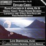 Grieg, Edvard Grieg Pianoconcert