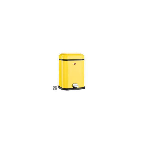 wesco single boy afvalemmer 13 l lemon yellow kopen kieskeurig nl helpt je kiezen. Black Bedroom Furniture Sets. Home Design Ideas