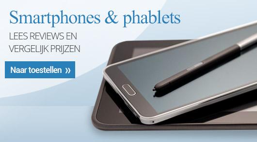 Smartphones en Phablets