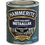 Hammerite direct over roest metaallak zijdeglans zwart - 750 ml