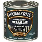 Hammerite direct over roest metaallak zijdeglans zwart - 250 ml