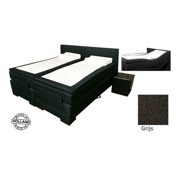 slaaploods cool boxspring 90x200 cm grijs kopen kieskeurig nl helpt je kiezen. Black Bedroom Furniture Sets. Home Design Ideas