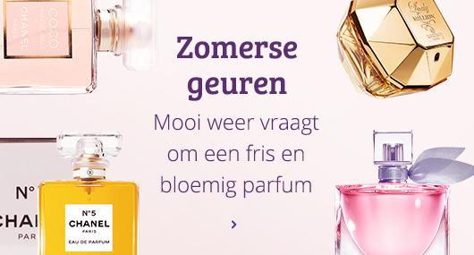 Parfum voor de zomer Kies gauw een nieuwe uit op Kieskeurig