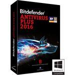 Bitdefender ANTIVIRUS PLUS 2016 3 PC 2 YEARS NLFR