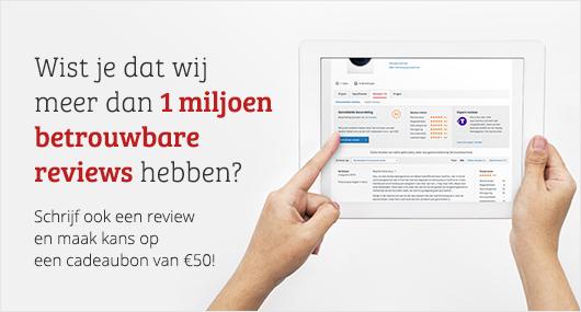 Schrijf een review op Kieskeurig.be