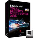 Bitdefender TOTAL SECURITY MULTI DEVICE 2016 2 YEARS 5 USERS