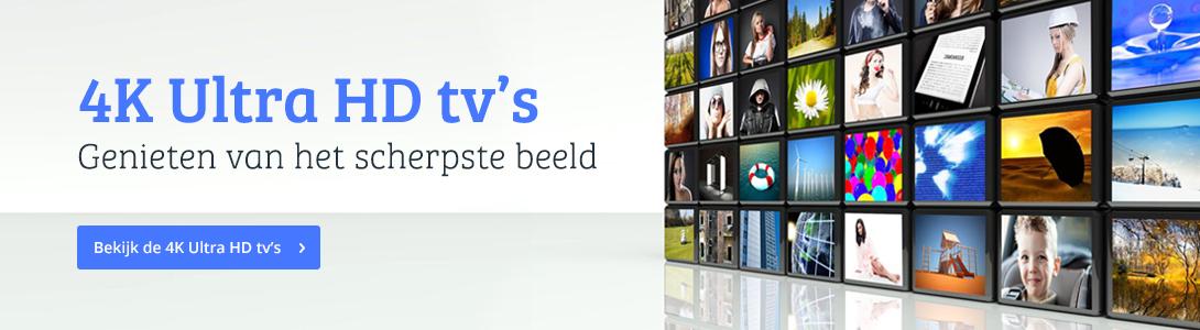 4K Ultra HD tv's genieten van het scherpste beeld