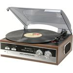 Soundmaster PL 186 - Platenspeler - Bruin