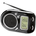 AEG WE 4125 zwart radio/wereldontvanger