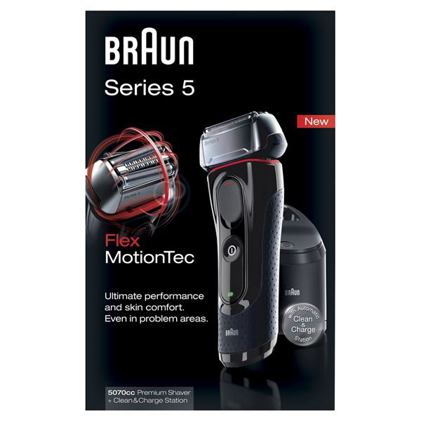 how to clean braun series 9 without charge station