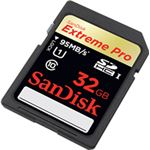Sandisk 32GB Extreme Pro SDHC