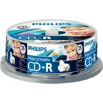Philips CR7D5JB25 700 MB/80 min. 52x CD-R