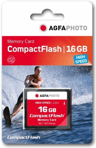 AgfaPhoto Compact Flash, 16GB