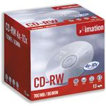 Imation CD-RW 4x-10x 700MB (10)