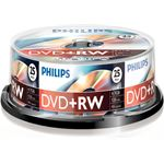 Philips 25 x DVD+RW - 4.7GB / 120min