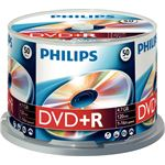 Philips 50 x DVD+R 4.7GB/120 min.