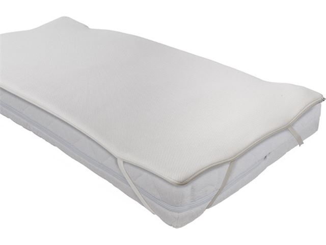 Prénatal combi hr30 airgosafe topper 60x120 white kopen