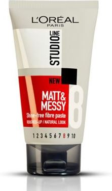 L'Oréal Paris Studio Line MattMessy Zero Shine Fibre Paste TUBE