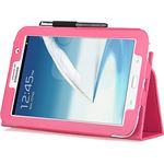 Samsung Stand Case voor Galaxy Note 8.0 hot pink