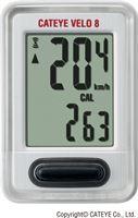 CatEye Velo 9 VL820 Fietscomputer met Draad Wit