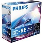 Philips BE2S2J05C/00 Blu-Ray ReWritable, 25GB, 5 discs