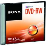 Sony DVD-RW/4.7GB Slim Case