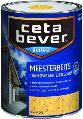Kleuren Cetabever Meesterbeits.Cetabever Meesterbeits Transparant Glans 0 75 Liter 085 Teak Kopen
