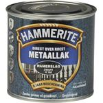 Hammerite direct over roest metaallak hamerslag zwart - 250 ml