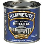 Hammerite direct over roest metaallak hoogglans zilvergrijs - 250 ml