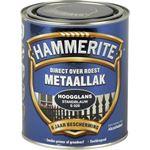 Hammerite direct over roest metaallak hoogglans standblauw - 750 ml