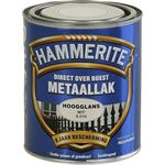 Hammerite direct over roest metaallak hoogglans wit - 750 ml