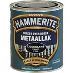 Hammerite direct over roest metaallak zijdeglans zwart - 750 ml