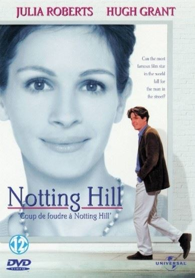 - notting hill dvd