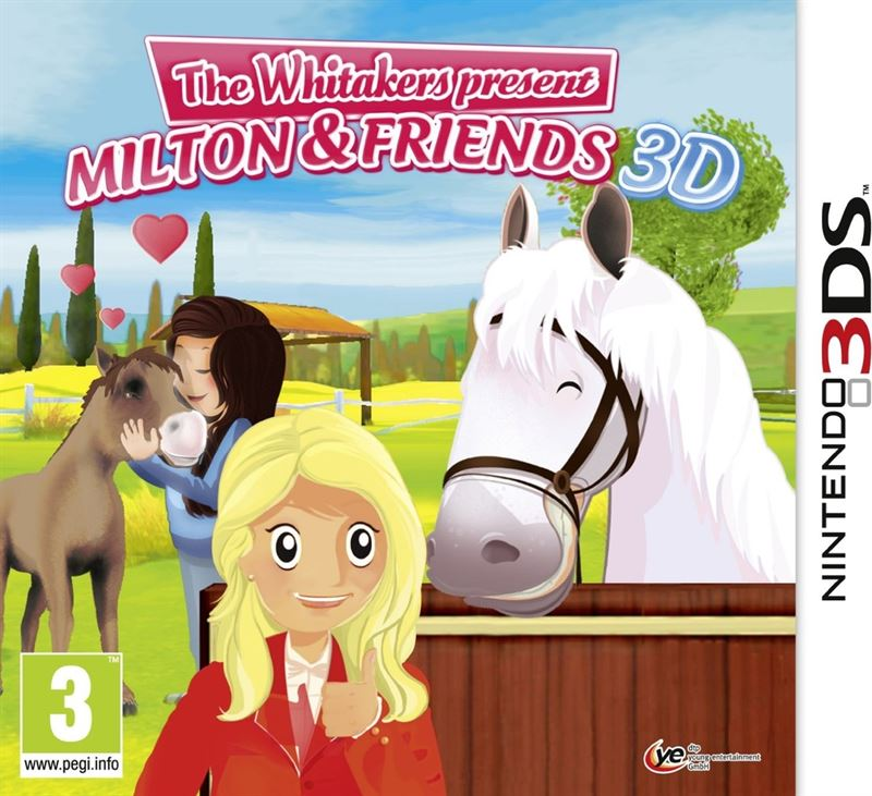 Nintendo The Whitakers present Milton and Friends 3D Nintendo 3DS