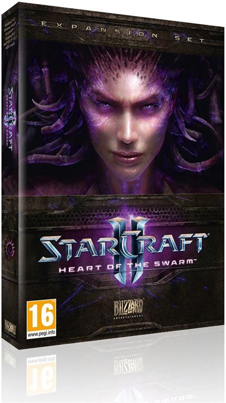 Blizzard Entertainment StarCraft II: Heart of the Swarm