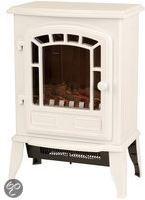 Classic fire Classic Fire Elektrische kachel met openhaard effect Torino (wit