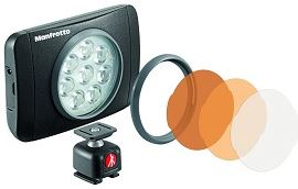 Manfrotto Manfrotto MLUMIEMU-BK Muse Led Light