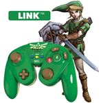 PDP Wired Fight Pad WIIU Official Nintendo GC Controller - Link