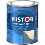 Histor Perfect Base Grondverf Acryl 0 75 liter - Grijs