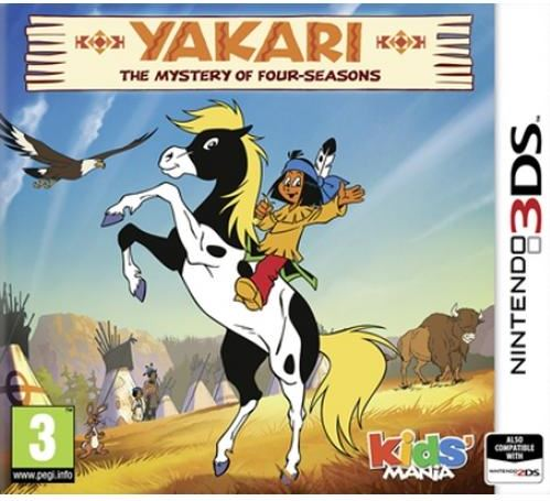 SALTOO Yakari, The Mystery of Four-Seasons 3DS Nintendo 3DS