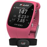 Polar M400 HRM Sporthorloge met GPS Roze roze