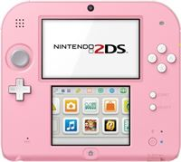 Nintendo 2Ds Rose Blanc Tomodachi Life