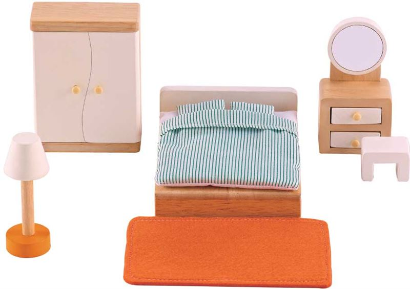 Houten Accessoires Slaapkamer : Hape poppen accessoires kieskeurig be