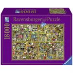 Ravensburger puzzel Colin Thompson Magical bookcase 18000 stukjes